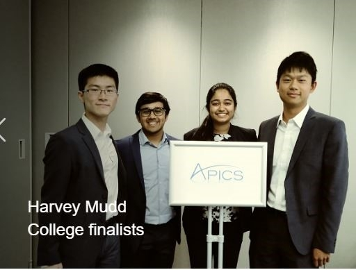 Harvey Mudd 2018-2019 Student Case Competition