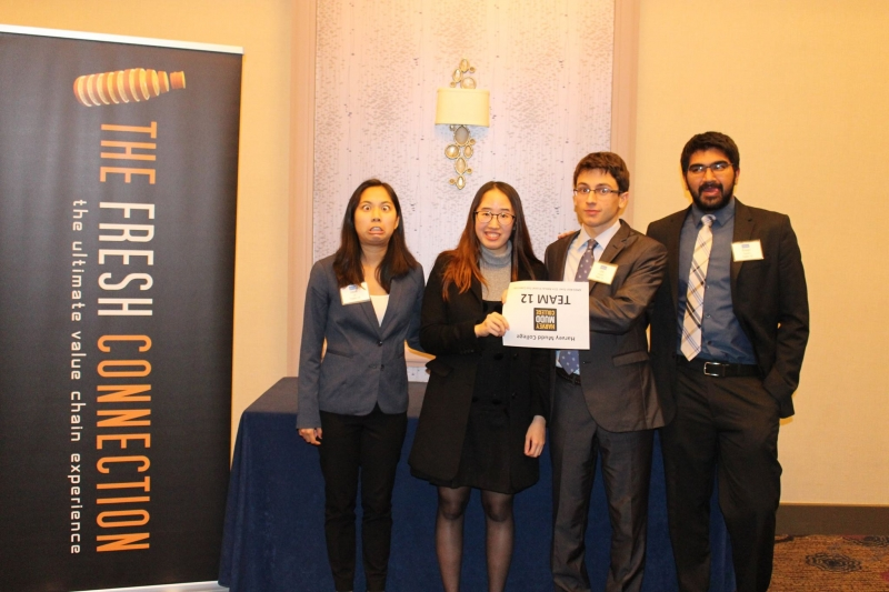 1st Place Undergrad Winners - Harvey Mudd College having fun