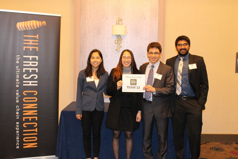 1st Place Undergrad Winners - Harvey Mudd College