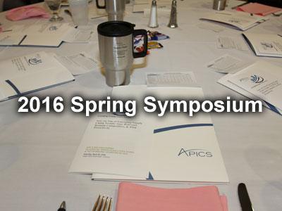 2016 Spring Symposium Pictures