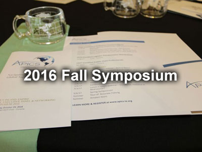 2016 Fall Symposium Pictures
