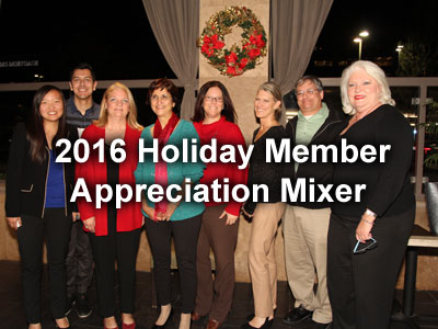2016 Holiday Member Appreciation Mixer