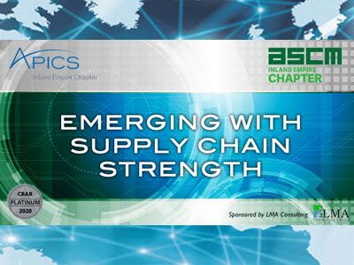 Emerging with Supply Chain Strength Webinar Series